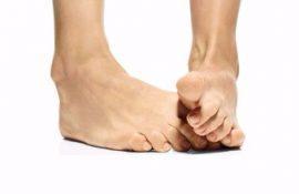 Ноготь на ноге отходит