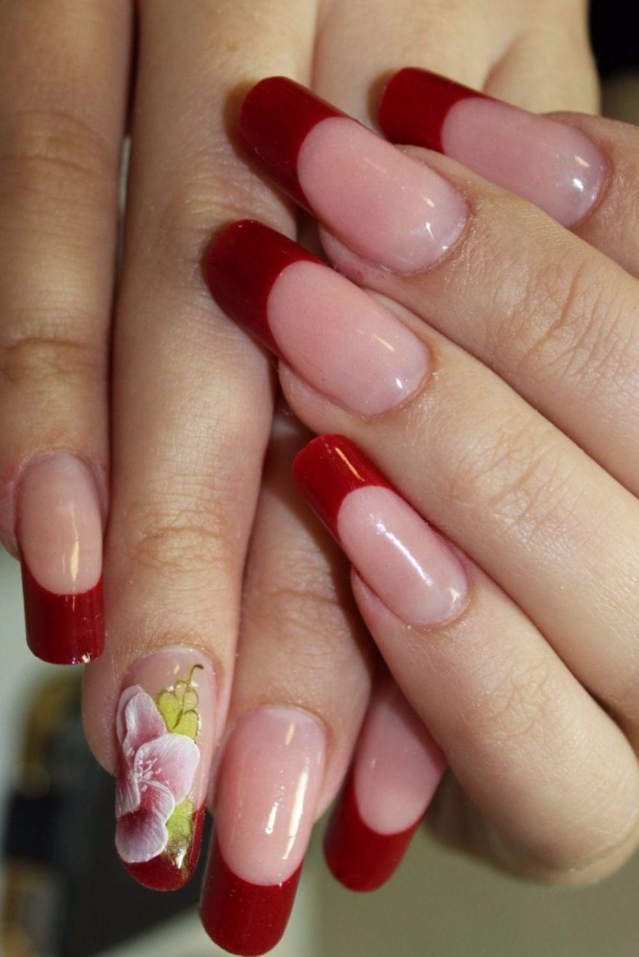 Фото акриловых и гелевых ногтей