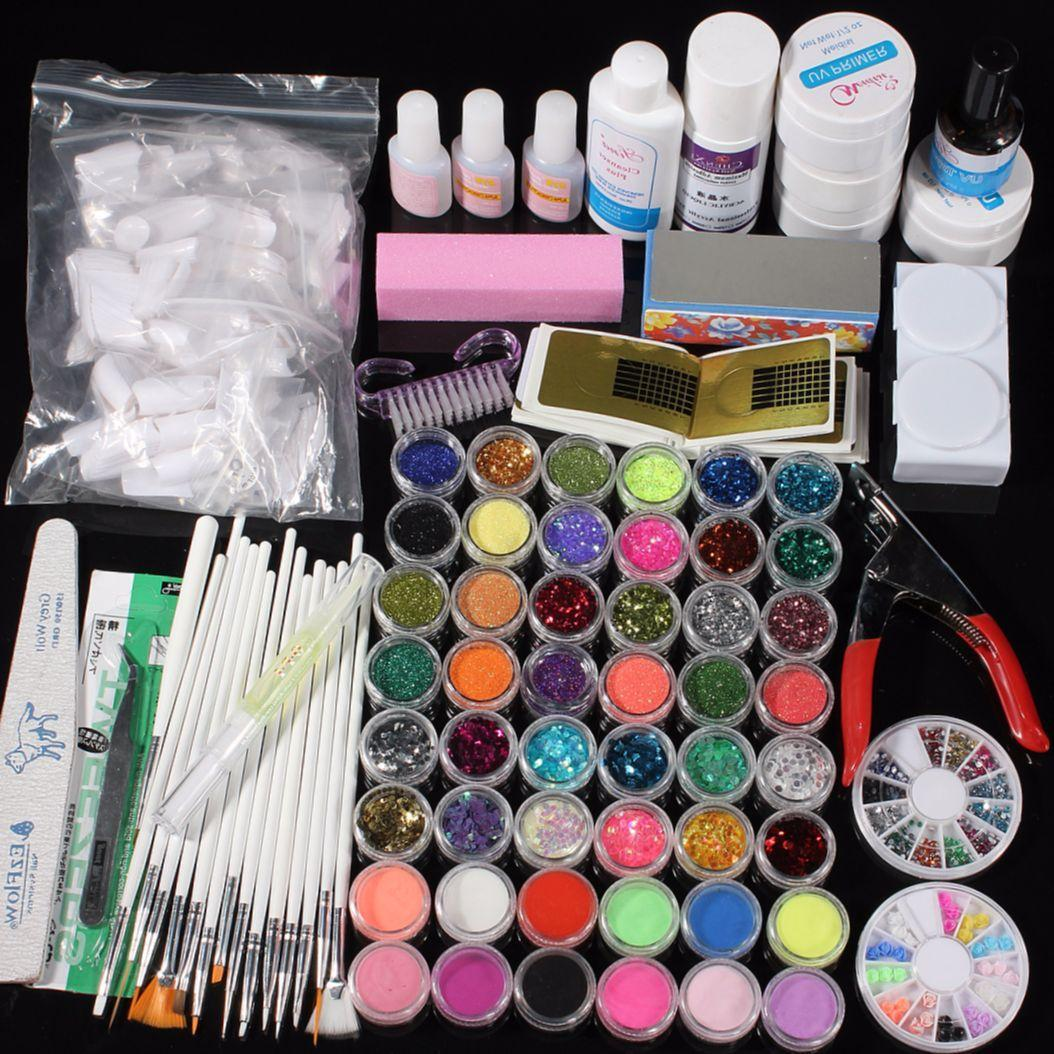 Список материал для наращивания ногтей в домашних условиях 68
