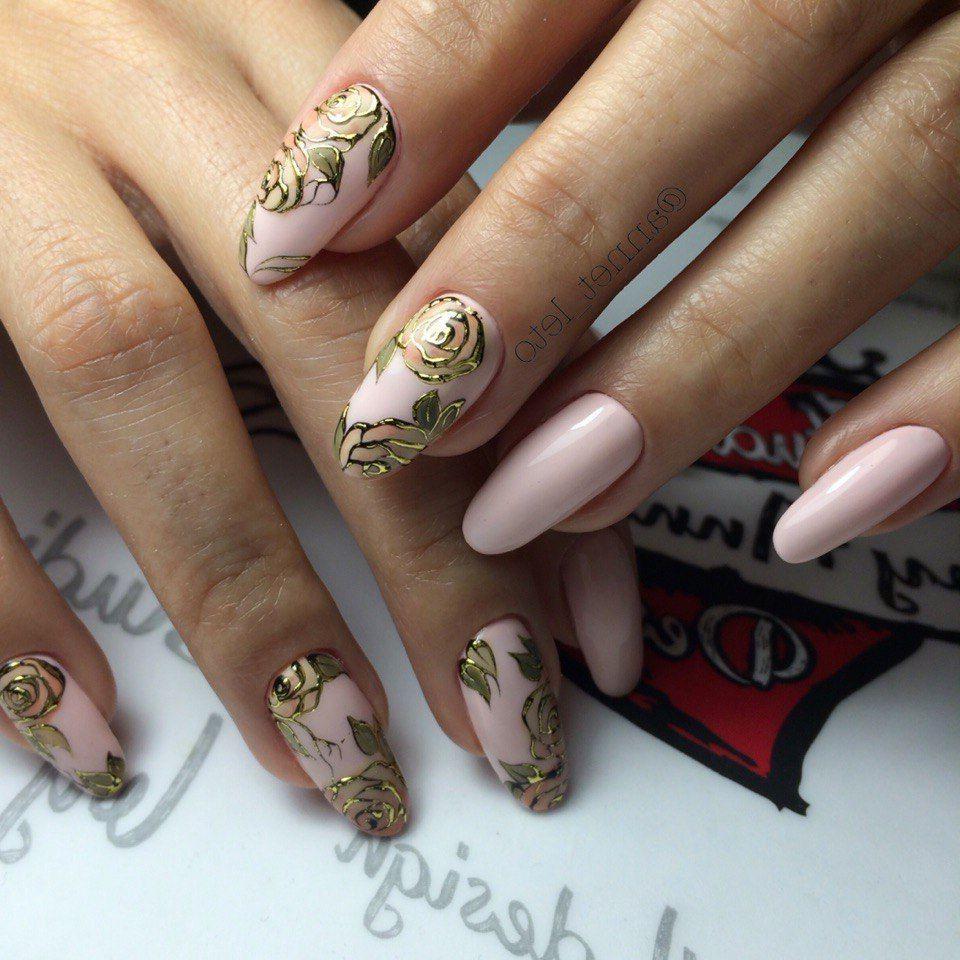Литье на длинные ногти