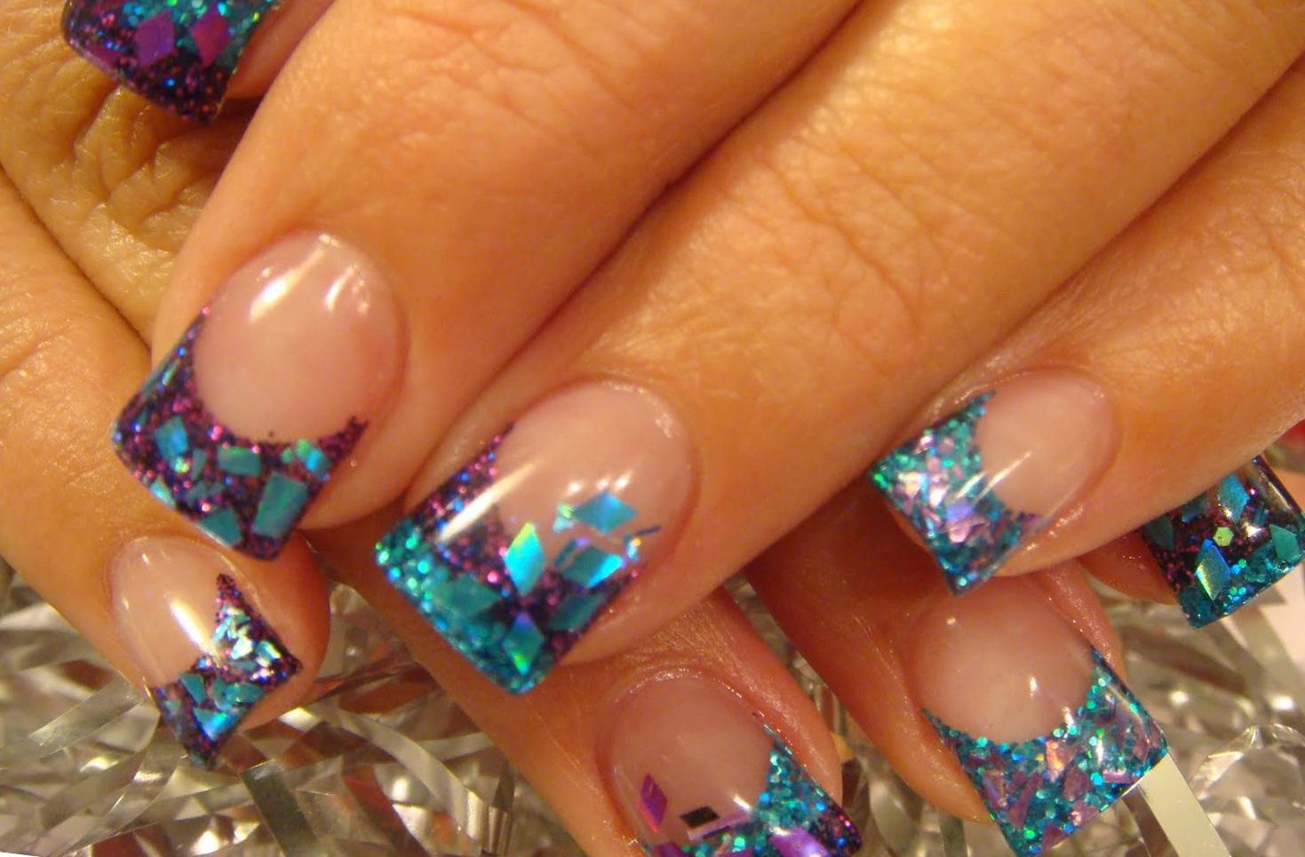 Морская тема: аквариумный дизайн ногтей