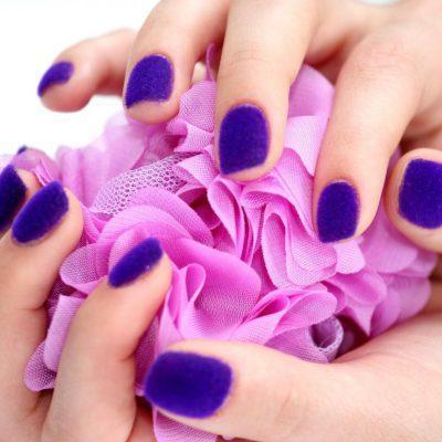 Кашемир: модные ногти 2016