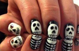 Маникюр на Хэллоуин: красиво до ужаса!