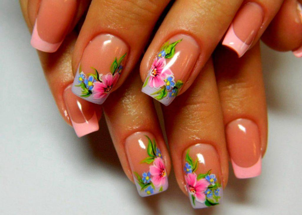дизайн ногтей весна фото гель лак