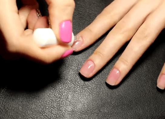 Как укрепить ногти l Укрепление ногтей акриловой пудрой