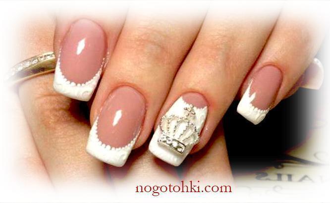 Корона на ногтях