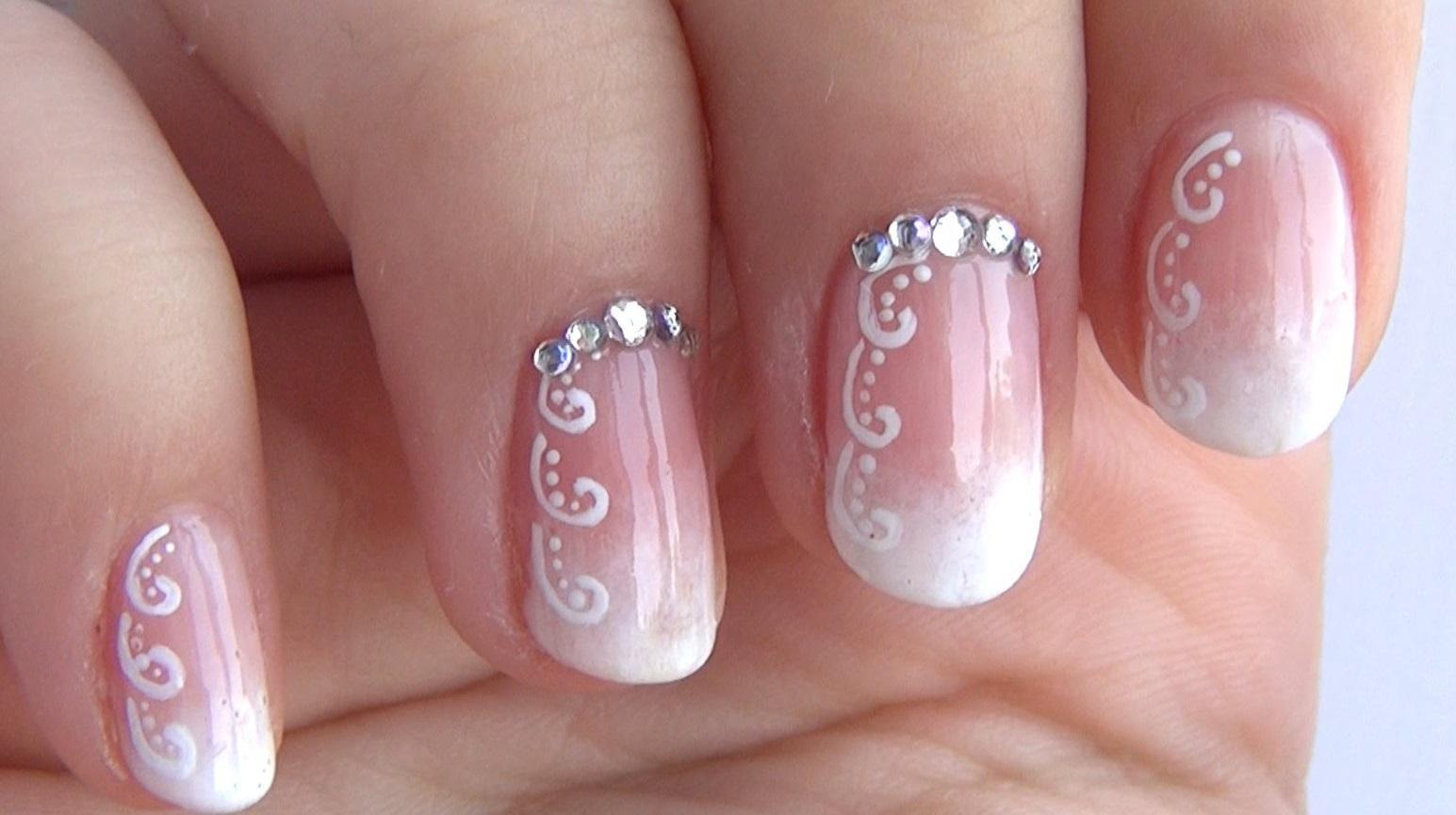 Фото ногти красивый узор