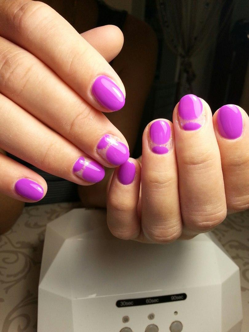 Прикольный фиолетовый дизайн