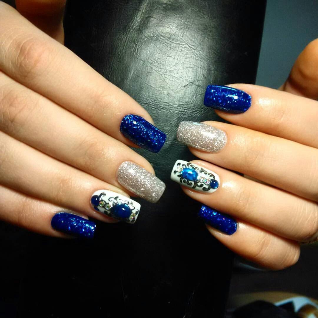 Лучезарные стильные ногтики
