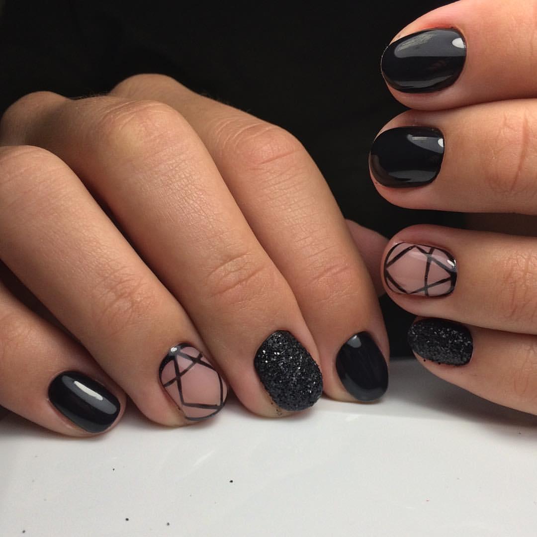 Маникюр Простые Рисунки На Ногтях