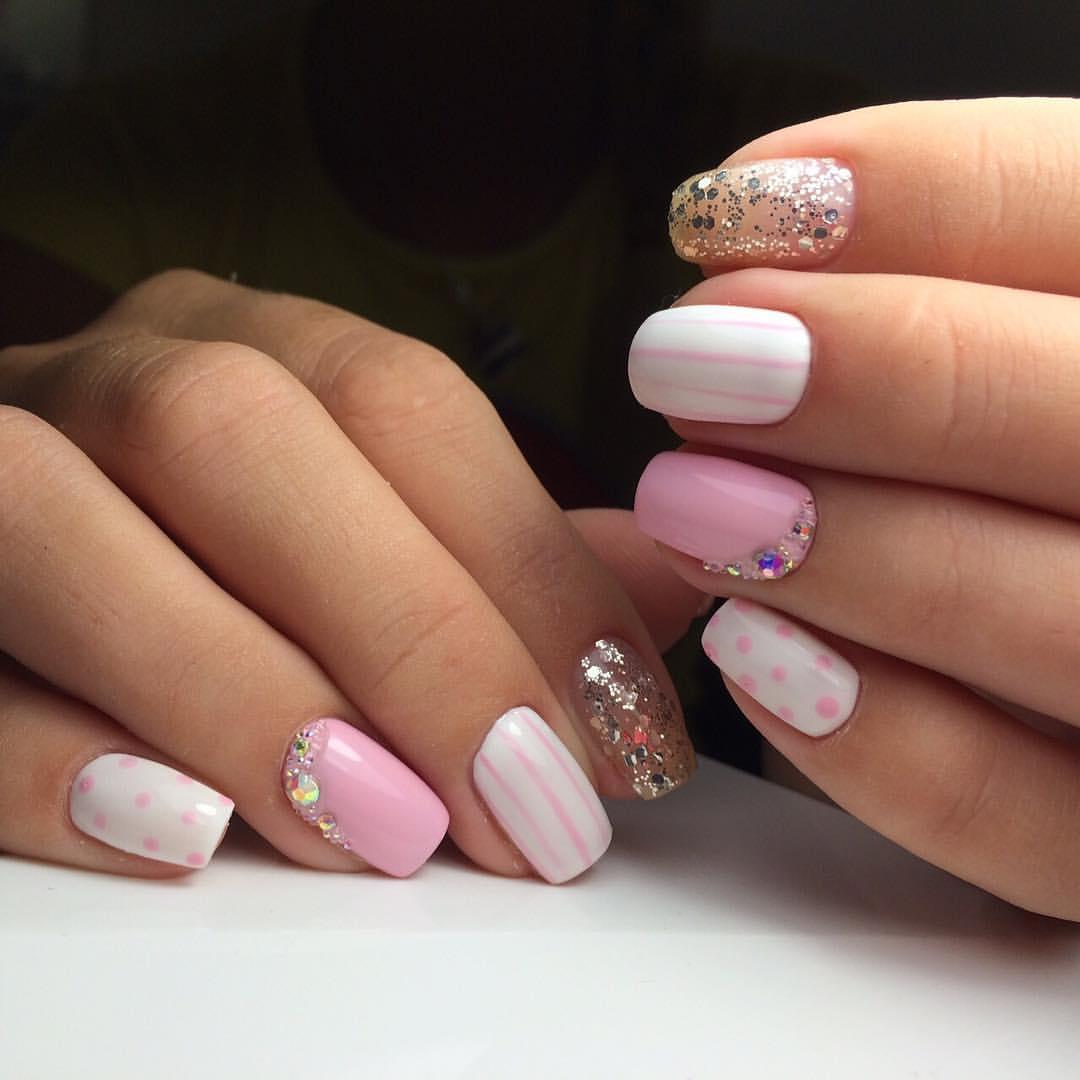 Безумно красивые ногти нежных оттенков
