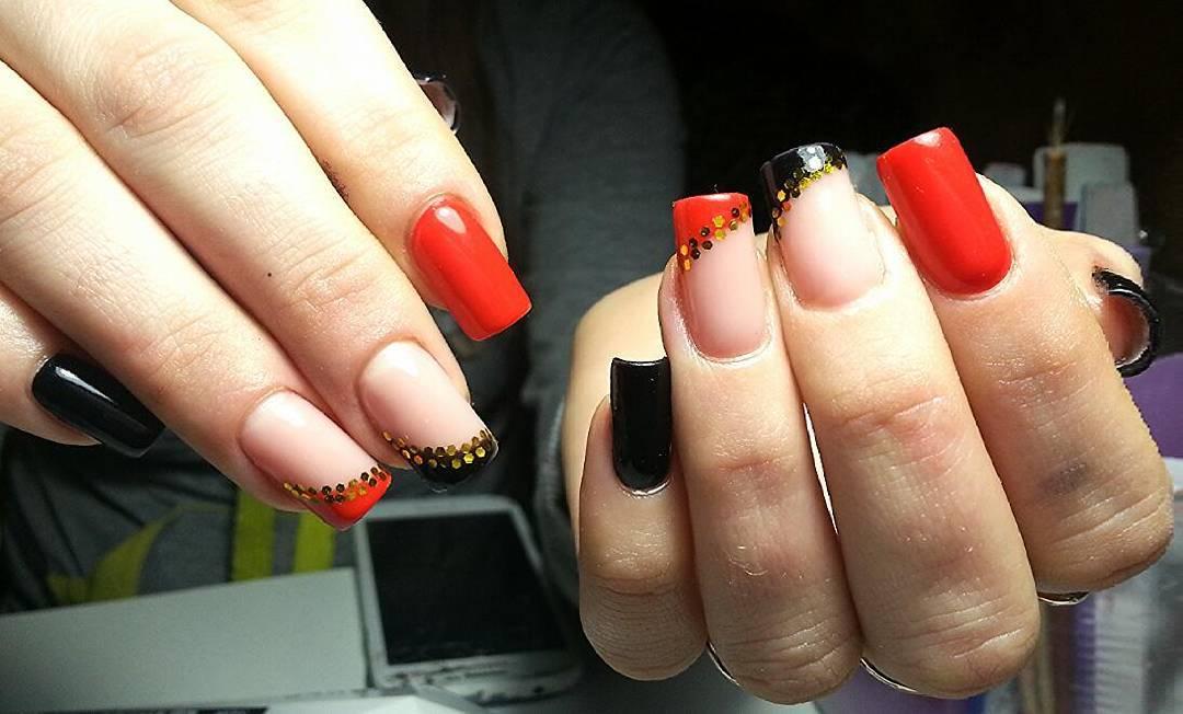 Роскошные наращенные ногти