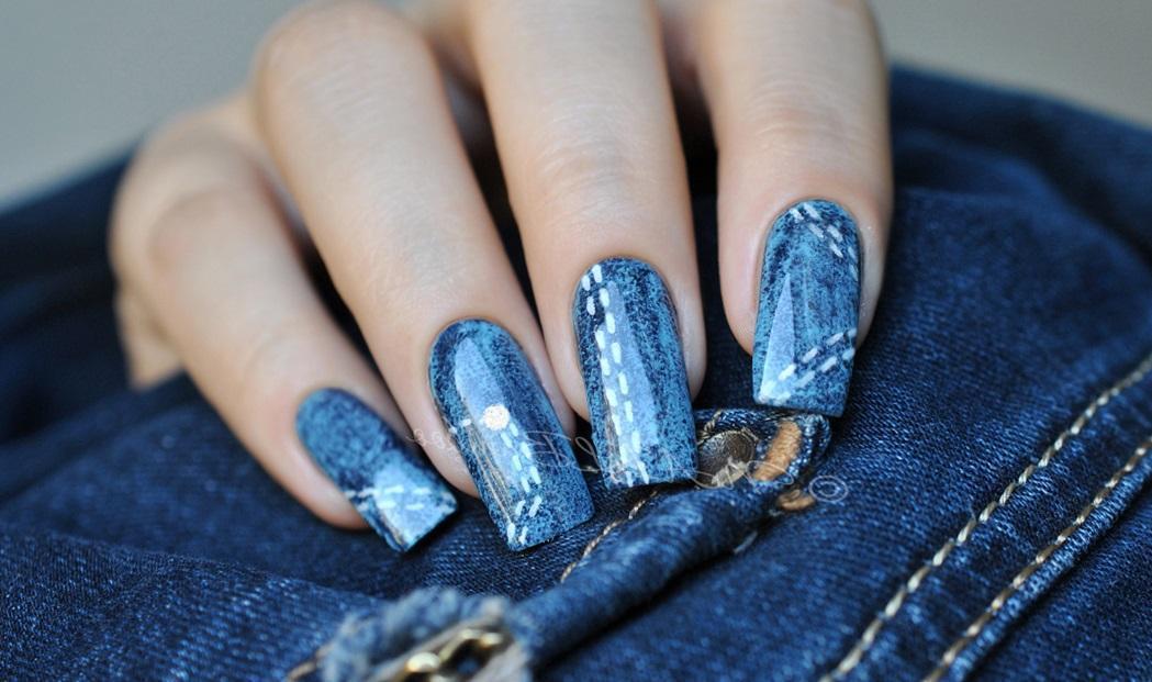 «Джинсовые» ногти