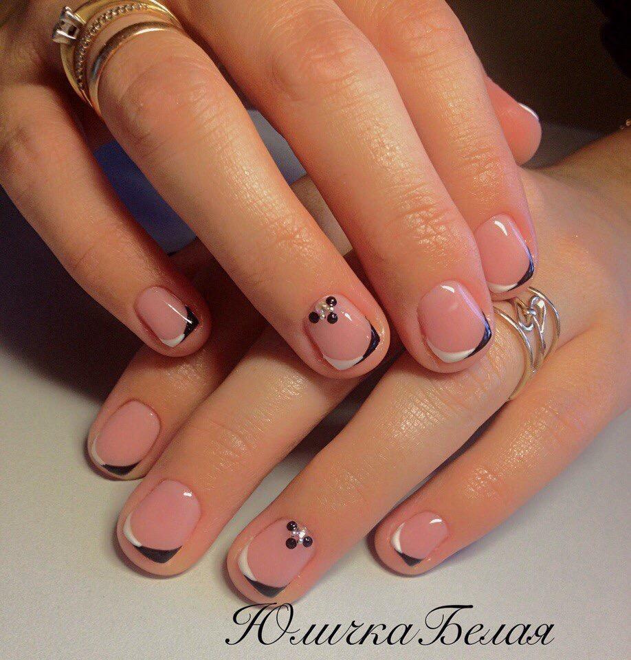 И короткие ногти можно привести в порядок!