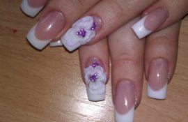 Как сделать лепку на ногтях?