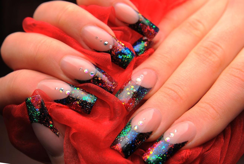 отпуск фото нарощенных ногтей красивых и ярких иылдырым нургул