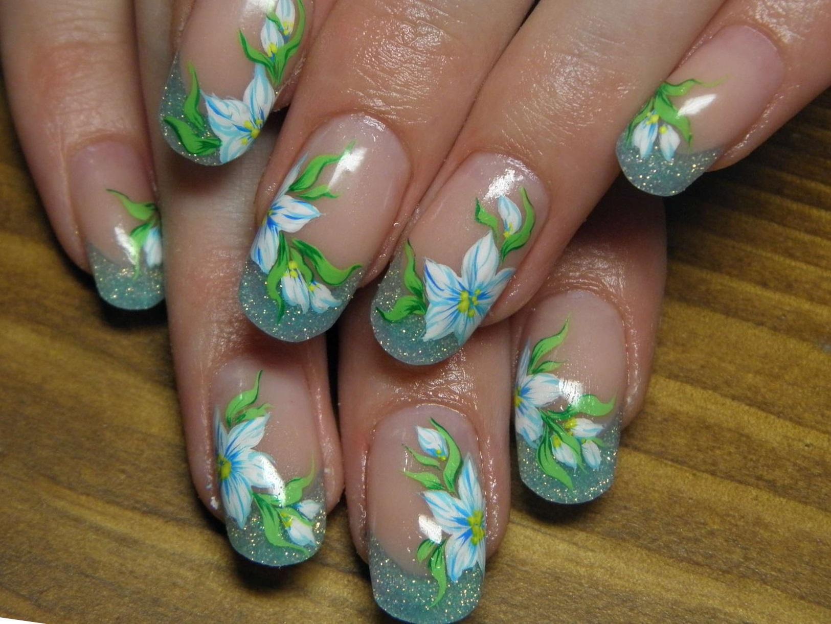 Дизайн ногтей весна лето. 82 фото маникюра. -Фото дизайна 815