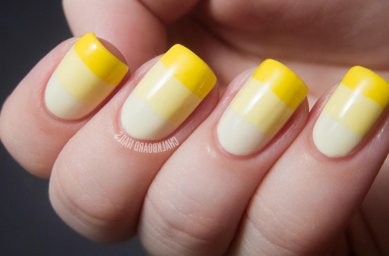 Полосатый желтый градиент