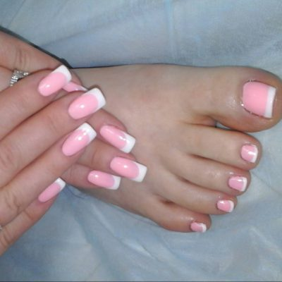 Pedicure gel: photos and the best design ideas for toenails.