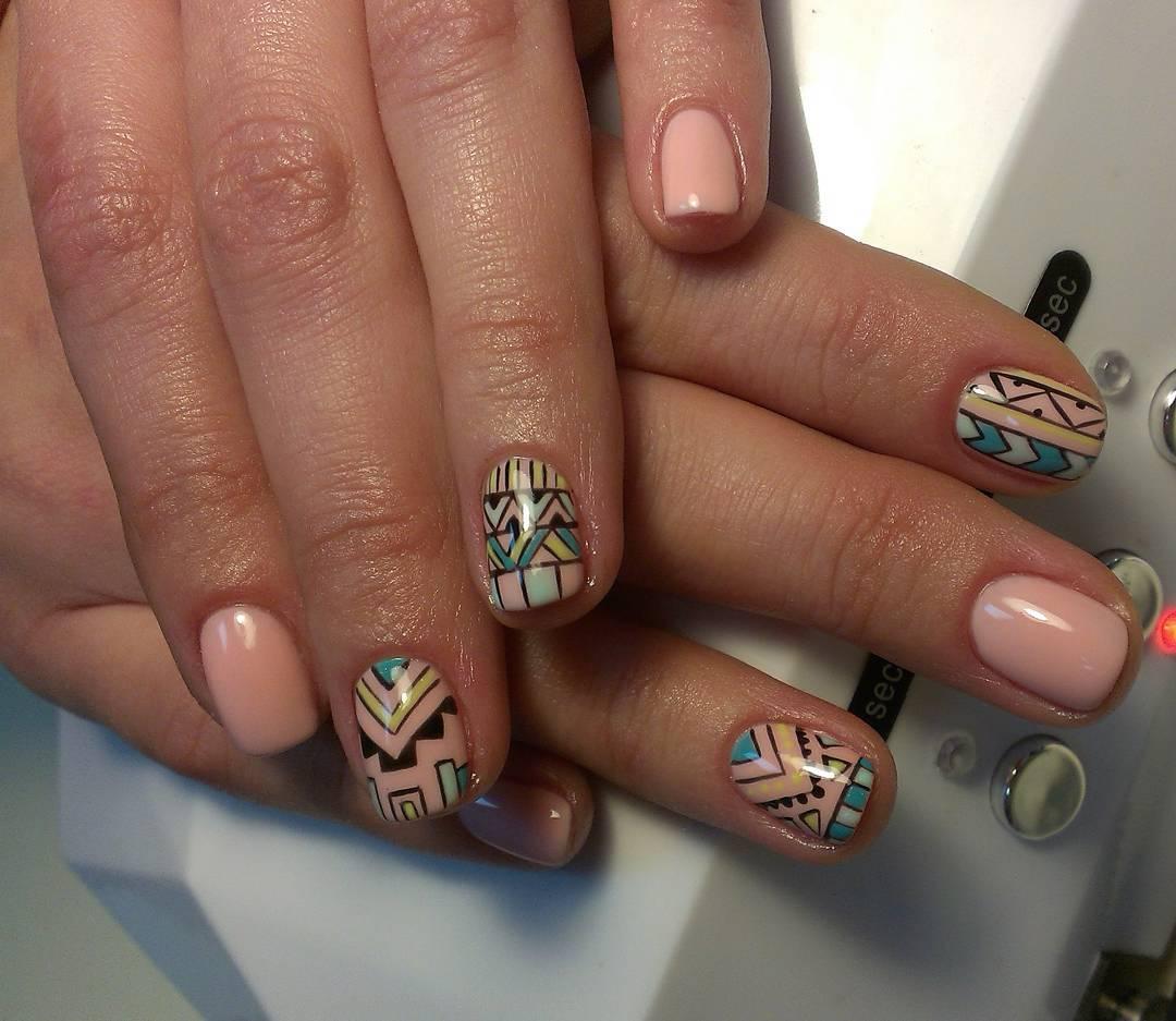 Интересные хипповские ногти