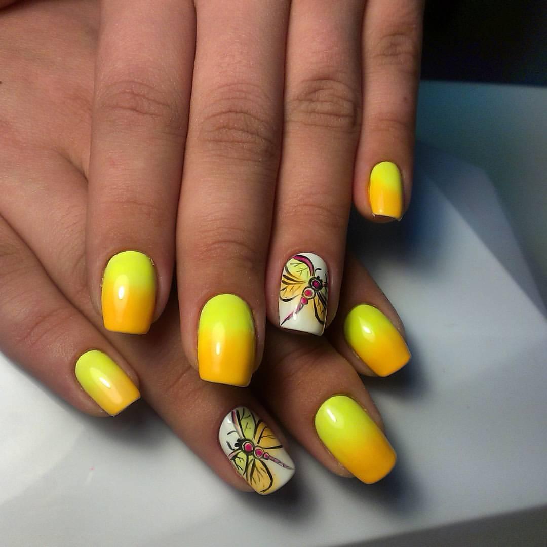 Дизайн ногтей стрекоза 2017 новинки