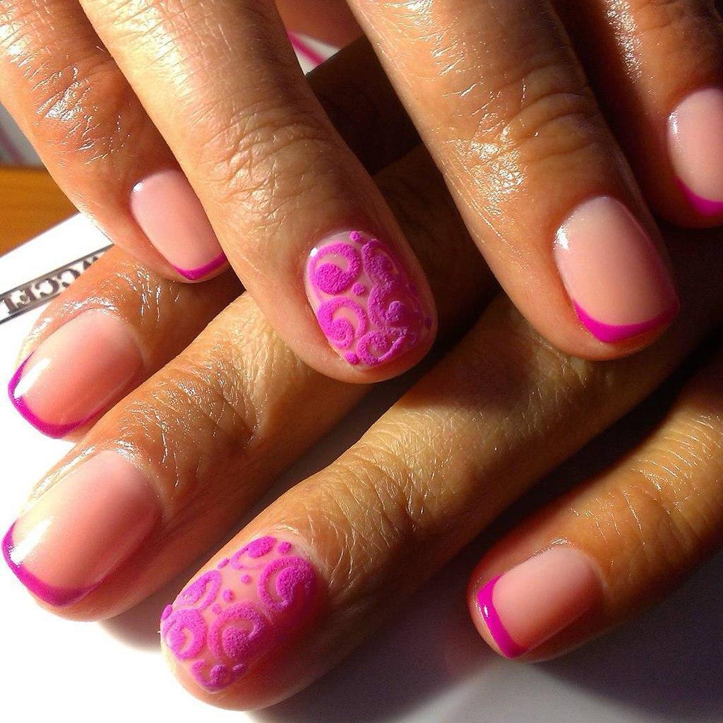 Чудный розовый френч