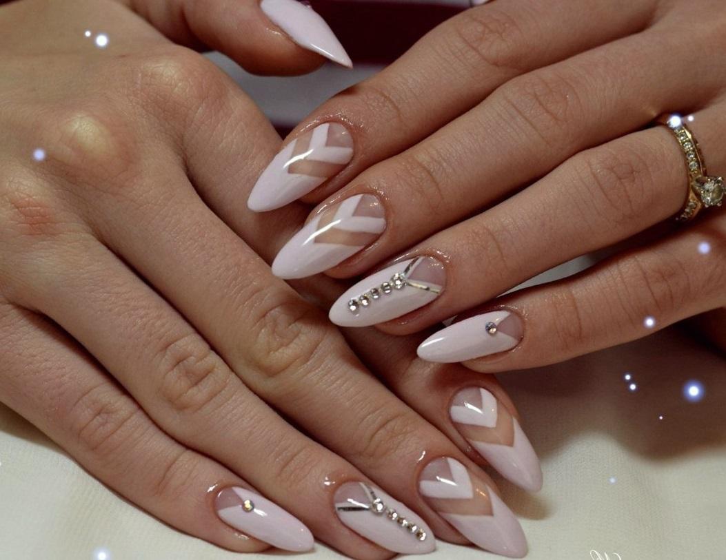 Ногти нарощенные фото: 100 фото, дизайн нарощенные ногти 49