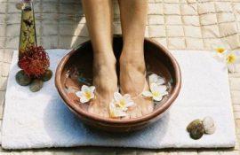 Как восстановить кожу стоп и ногтевую пластину?