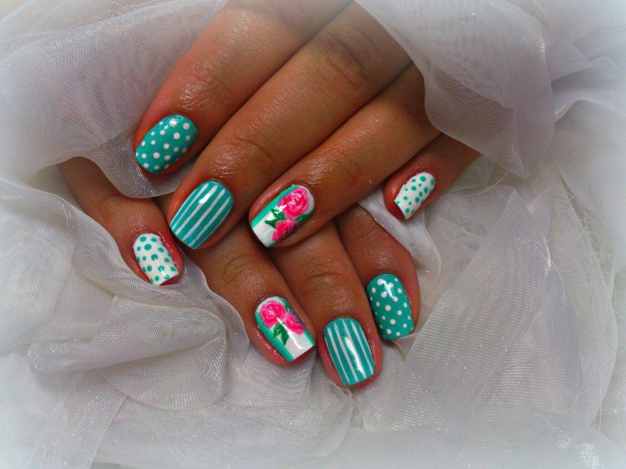 Дизайн ногтей осень 2015. Фото 55