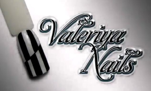 Valeriya Nails l Дизайн ногтей зебра l ЧБ l Гель-лак