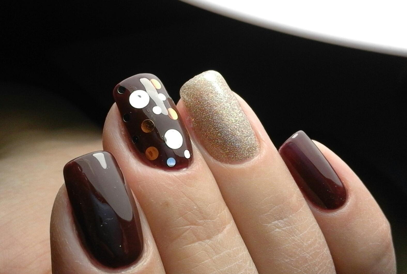 Шеллак Разные Цвета На Ногтях Фото