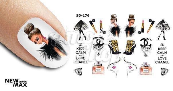 Слайдер для ногтей «Модница»