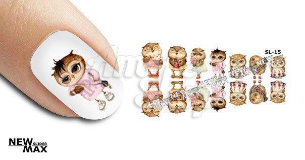 Слайдер для ногтей «Котики»