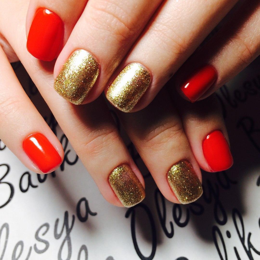 Красный с золотом — очень привлекательно!