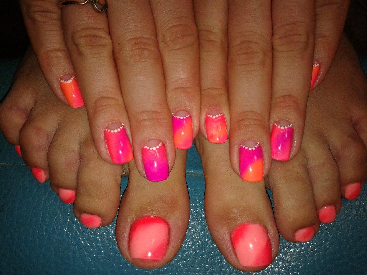 Маникюр лето 2019. Модные летние мотивы на ногтях ( 200 фото) | 960x1280
