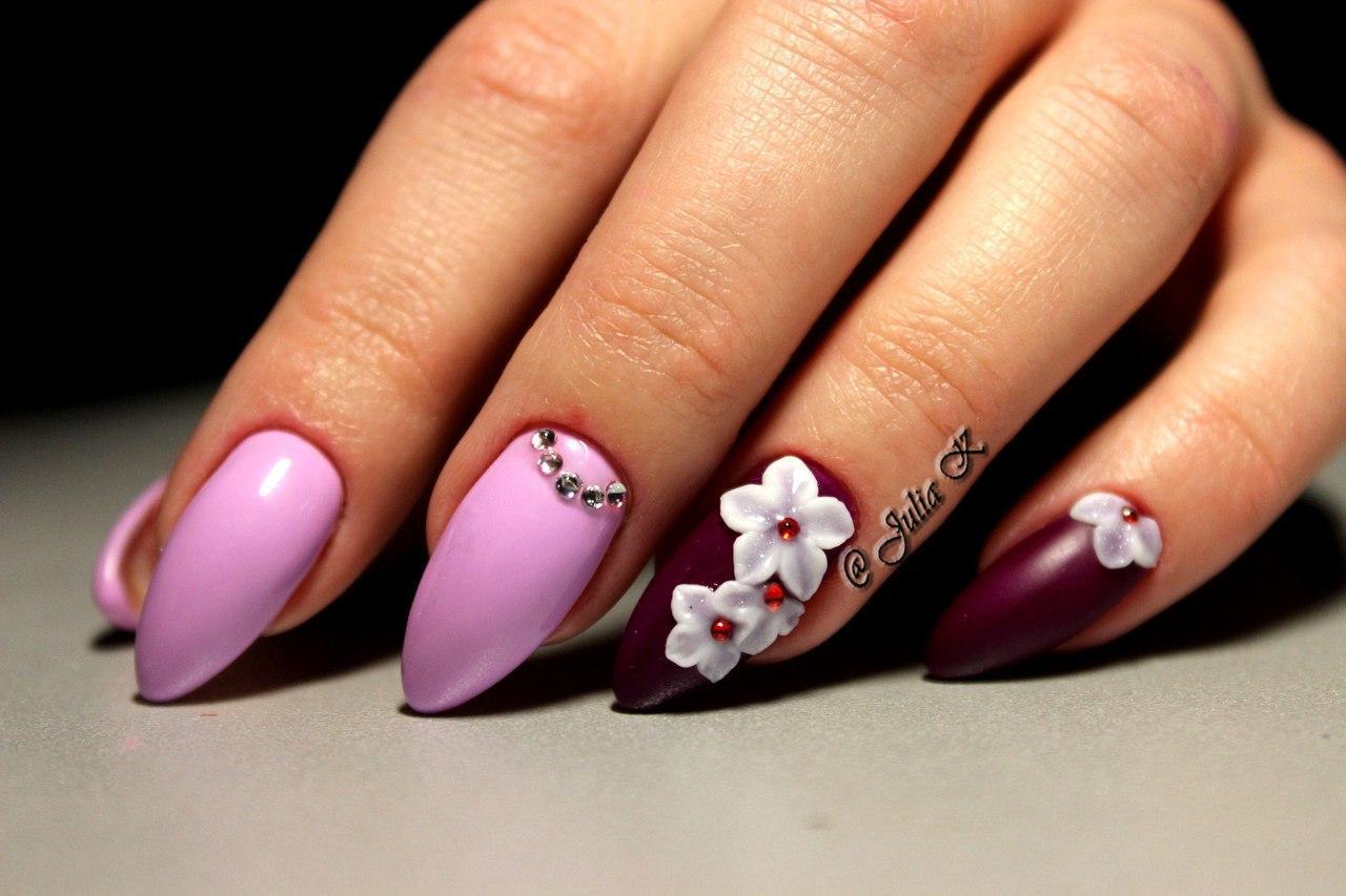 Очень красивый дизайн ногтей-163 фото -Фото дизайна ногтей 24