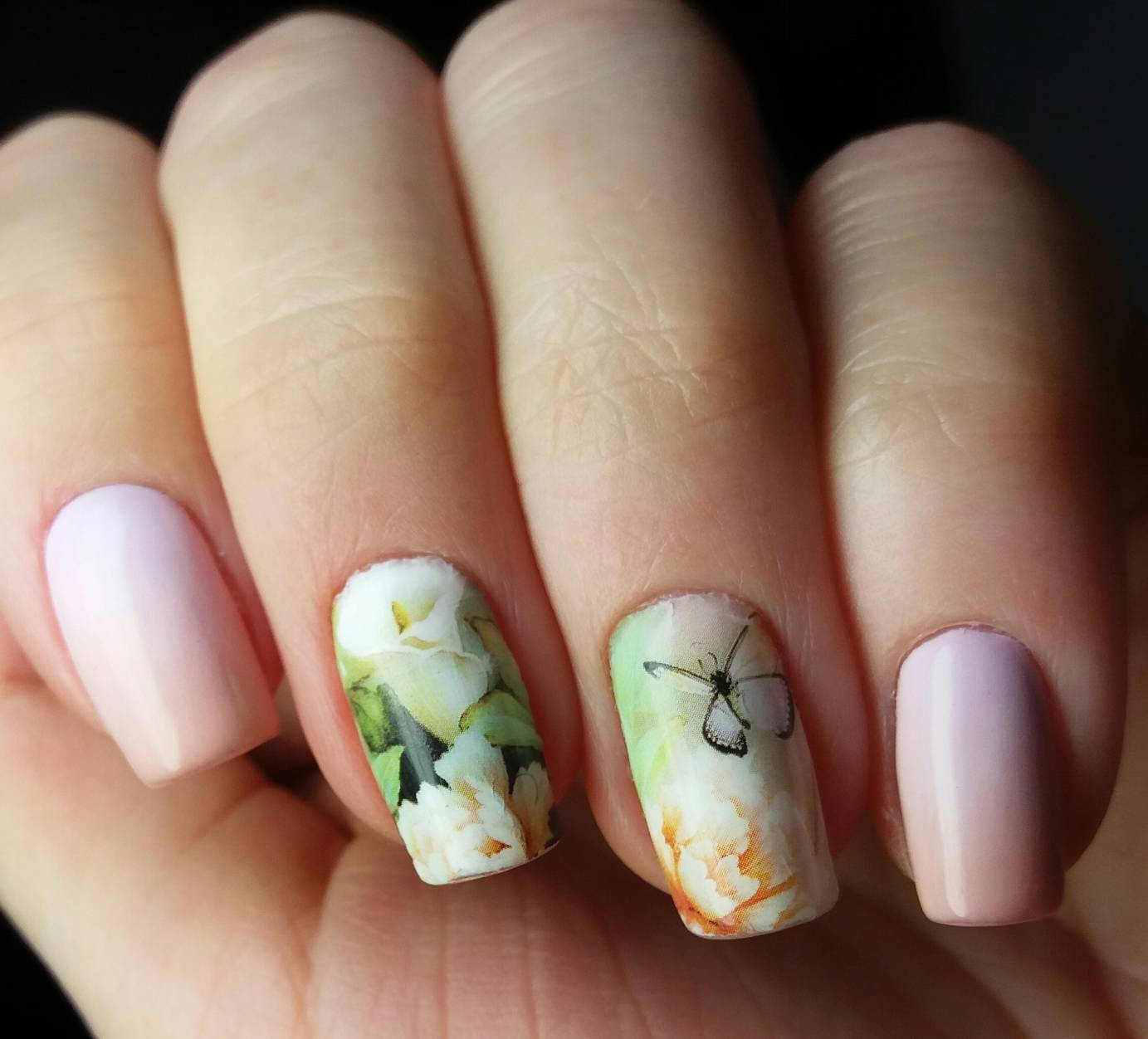 Оригинальные весенние ногти фото