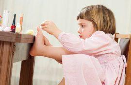 Существует ли детский педикюр?