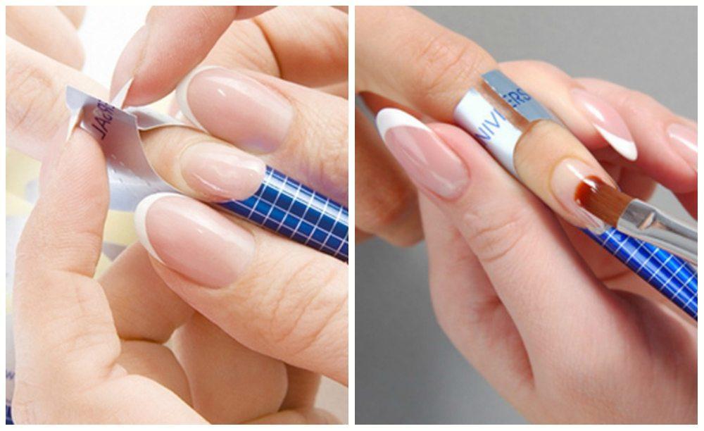Новинки по формам ногтей в наращивании