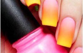 Цвет ногтей на Новый год