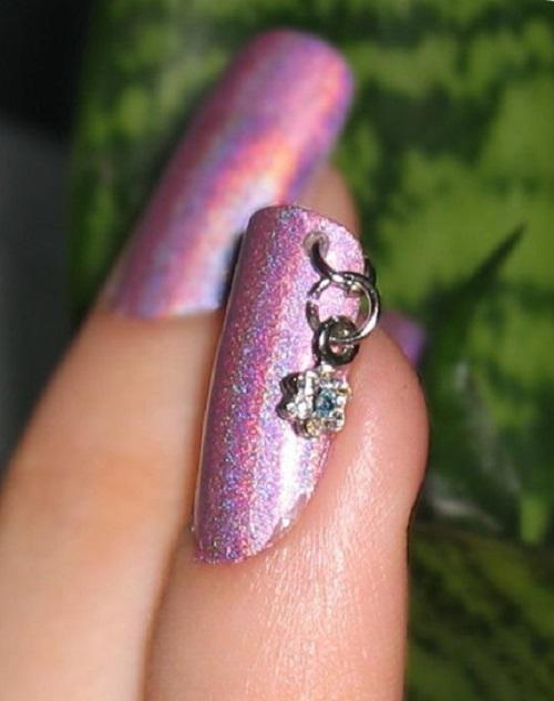 Пирсинг для длинных ногтей