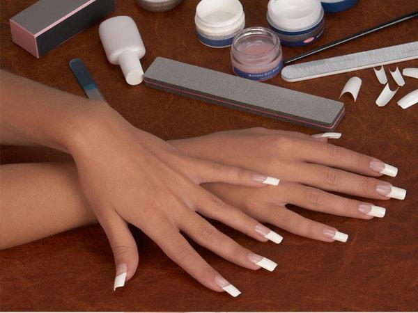 Домашнее наращивание ногтей
