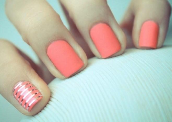 Маникюр красивые на короткие ногти
