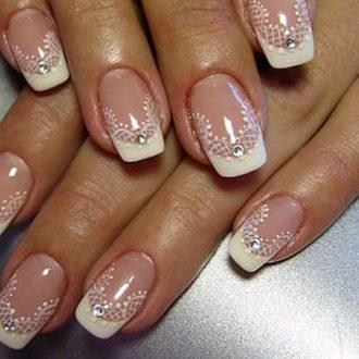 Дизайн втирка на ногтях как делать