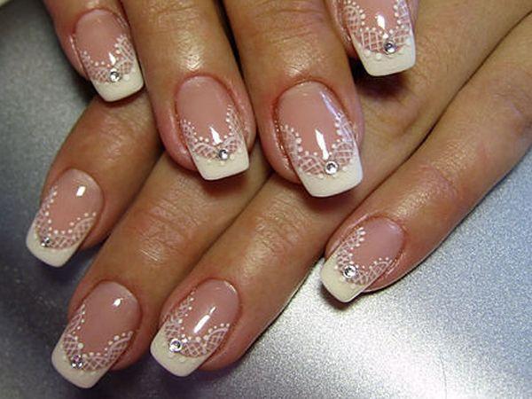 Дизайны ногтей для невест