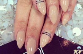 Ногти миндалевидной формы – сохраняем естественность