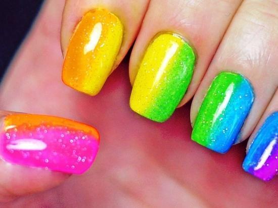 Маникюр на короткие ногти – модный вариант 2018 года