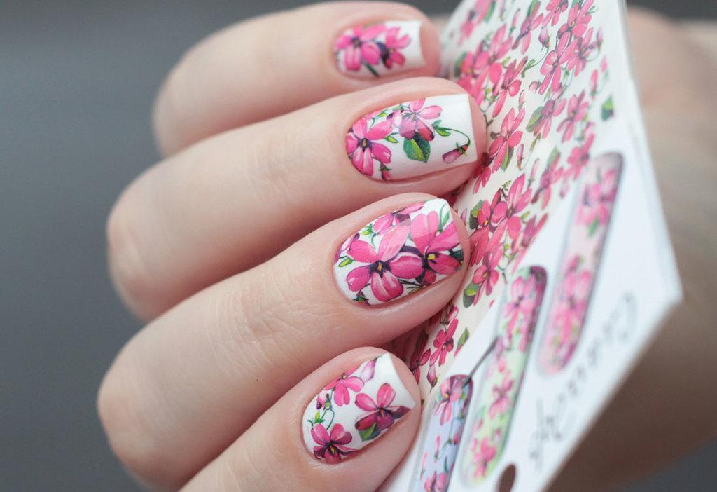 Фото ногтей со слайд дизайном