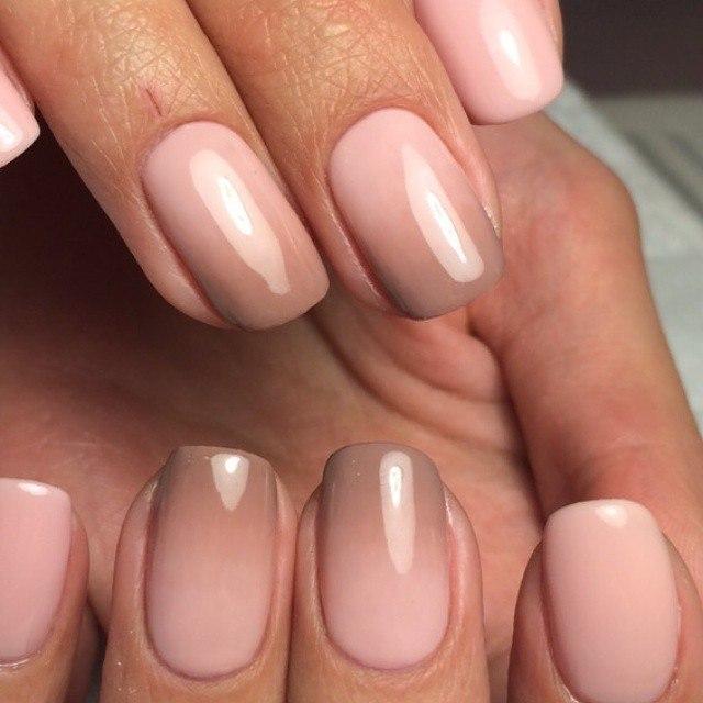 Нежность и совершенство на Ваших ногтях – маникюр в бежевых тонах