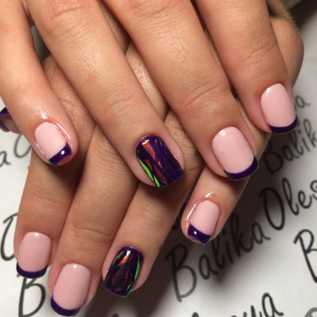 Ногти гель лак дизайн 2017-2018 новинки весна на короткие ногти